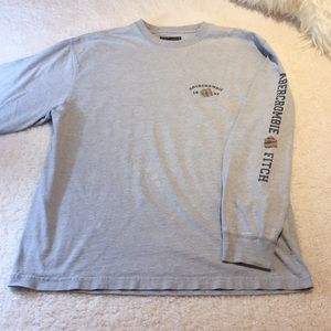 Abercrombie & Fitch Men's Long Sleeve Shirt